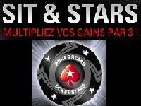 PokerStars triple vos gains avec les Sit & Go « Sit & Stars »