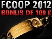 PokerStars vous offre un Bonus FCOOP 2012 jusqu'à 100 Euro