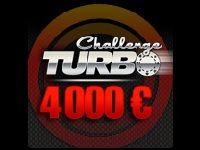 Turbo Poker lance aujourd'hui le Challenge Turbo