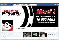 Barrière Poker : ce soir, Tournoi Freeroll des Fans Facebook