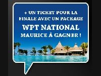 PMU Poker : du cash et un Package WPT National Maurice ?