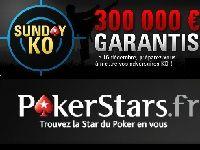 PokerStars : devenez le Roi du KO pour 300 000 Euro