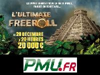 PMU Poker : ce soir, gagnez 20 000 Euro avant la fin du monde