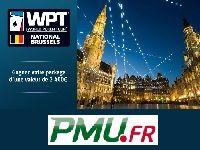 PMU Poker vous ouvre les portes du WPT National Bruxelles