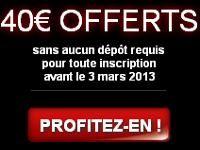 Barrière Poker : profitez de 40 Euro offerts sans dépôt obligatoire