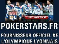 PokerStars devient Fournisseur Officiel de l'Olympique Lyonnais