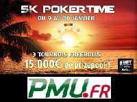 PMU Poker offrira demain un Package WPT National Maurice