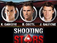 PokerStars : Shooting Stars avec Gameiro, Costil et Galfione