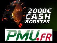 PMU Poker : 4 solutions pour les 2000 Euro du Cash Booster