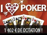 Everest Poker : Tournoi I Love Poker pour la Saint-Valentin