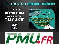 PMU Poker : relevez le Défi Sit & Go Spécial WPT Annecy