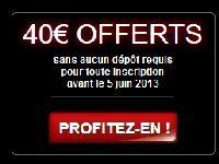 Barrière Poker : 40 Euro offerts pendant encore un mois