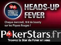 PokerStars : ce soir, Heads-Up Fever contre le Team Pro