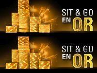 PokerStars : 1000 Sit & Go en Or et 50 000 Euro en plus