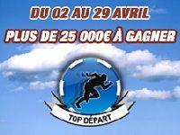 Barrière Poker : 25 000 Euro en Avril au Top Départ