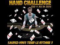 Hand Challenge à 6000 Euro sur Barrière Poker