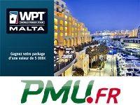 WPT Malte : Poker et Soleil grâce à PMU Poker
