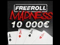 Turbo Poker : 10 000 Euro pour les Freerolls Madness