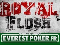 Everest Poker : 5 Freerolls et 19 000 Euro pour Royal Flush