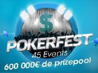 PMU Poker : PokerFest, 45 Events et 600 000 Euro de Prizepool