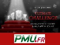 PMU Poker : jusqu'à 500E par semaine avec l'Ultimate Challenge