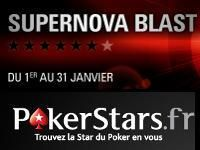 PokerStars : accédez au statut VIP Supernova en 31 jours
