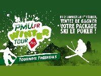 PMU Poker : 6 Packages Ski et Poker pour le Winter Tour 2013